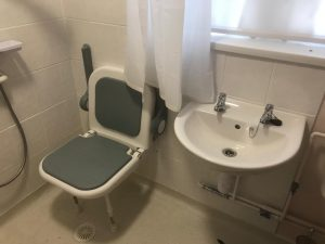 level access shower Guildford